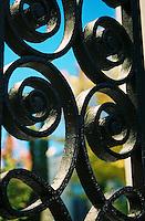Photo of wrought ironwork- Charleston, SC