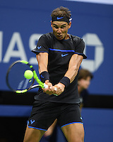 FLUSHING NY- AUGUST 31: Rafael Nadal Vs Andreas Seppi on Arthur Ashe Stadium at the USTA Billie Jean King National Tennis Center on August 31, 2016 in Flushing Queens. Credit: mpi04/MediaPunch