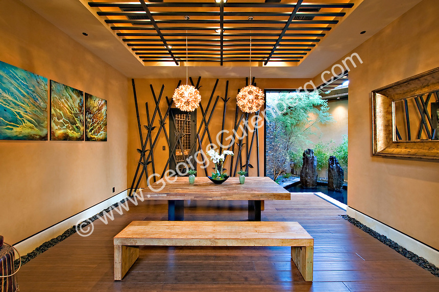 Stock photo of residential dining roomStock Photography Archive