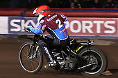Stuart Robson of Lakeside Hammers - Lakeside Hammers vs Wolverhampton Wolves, Elite Shield Speedway at the Arena Essex Raceway, Purfleet - 26/03/10 - MANDATORY CREDIT: Rob Newell/TGSPHOTO - Self billing applies where appropriate - 0845 094 6026 - contact@tgsphoto.co.uk - NO UNPAID USE.