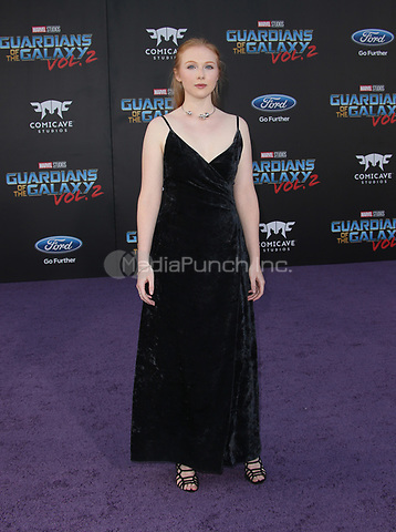 """HOLLYWOOD, CA - April 19: Molly Quinn, At Premiere Of Disney And Marvel's """"Guardians Of The Galaxy Vol. 2"""" At The Dolby Theatre  In California on April 19, 2017. Credit: FS/MediaPunch"""