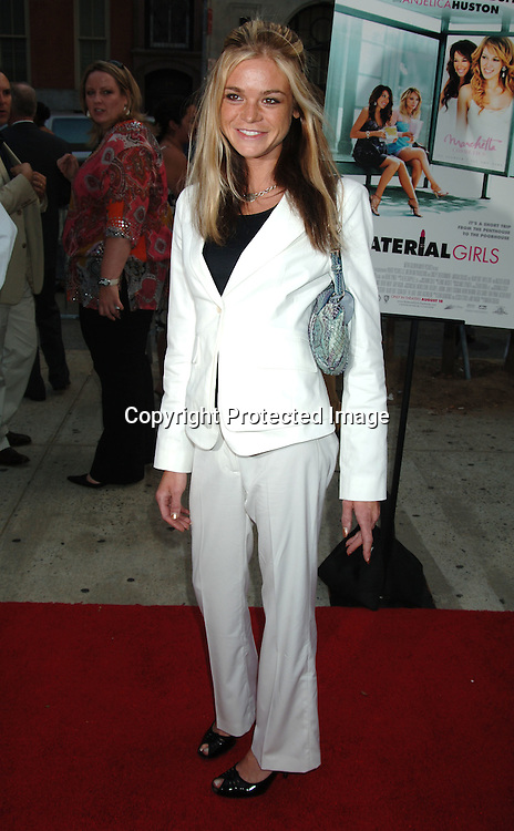 """Ellen Muth..at The New York Premiere of """"Material Girls"""" starring ..Hilary Duff and Haylie Duff on August 14, 2006 at ..Chelsea West Cinemas. ..Robin Platzer, Twin Images"""