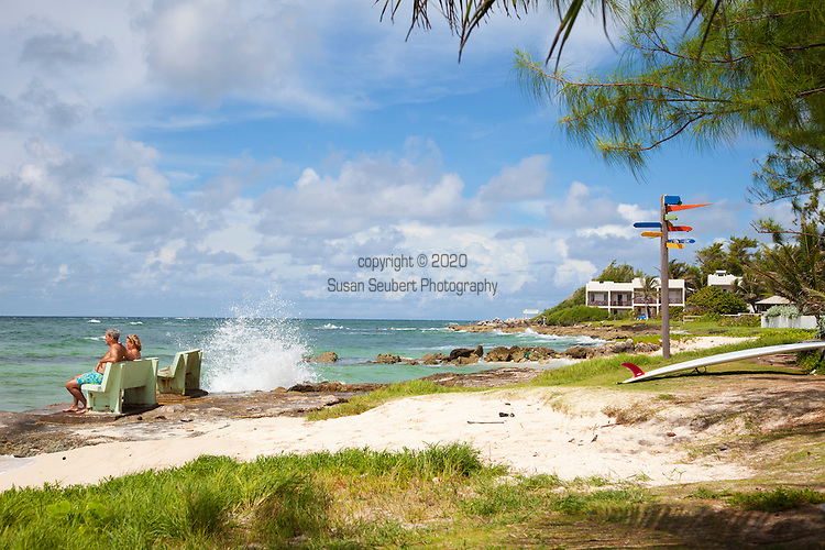 Zed's surf school at Surfer's Point on the South Coast of Barbados