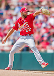 13 March 2016: St. Louis Cardinals pitcher Michael Wacha on the mound during a pre-season Spring Training game against the Washington Nationals at Space Coast Stadium in Viera, Florida. The teams played to a 4-4 draw in Grapefruit League play. Mandatory Credit: Ed Wolfstein Photo *** RAW (NEF) Image File Available ***