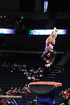 21 APR 2012:  Ashley Sledge of the University of Alabama performs on the vault during the Division I Women's Gymnastics Championship held at the Gwinnett Center Arena in Duluth, GA. Joshua Duplechian/NCAA Photos