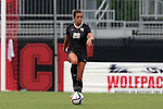 04 September 2015: Wake Forest's Kahla Seymour. The Wake Forest University Demon Deacons played the William & Mary University Tribe at Dail Soccer Field in Raleigh, NC in a 2015 NCAA Division I Women's Soccer game. The game ended in a 1-1 tie.