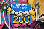 Neston Female Friendly Society Annual Club Walking Day. Neston Cheshire UK 2015. Neston Ladies Day commemorated in 2014 two hundred years old.