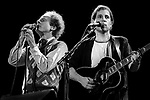 Art Garfunkel, Paul Simon, August 1983