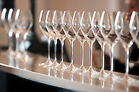 Inniskillin tasting room. Ridel custom make this glass to serve Canadian ice wine. January 14, 2012. © Allen McEachern.