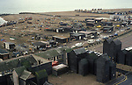 Hastings East Sussex. Fishermans huts, local inshore fishing industry. 1980s UK.