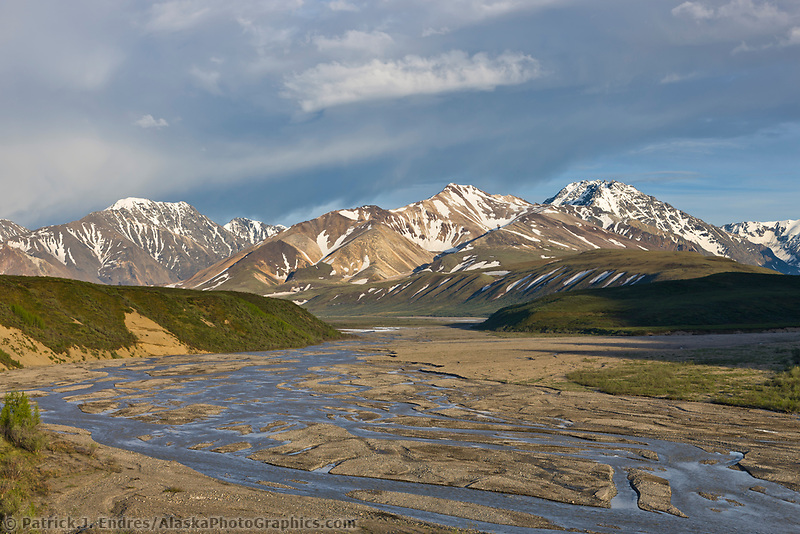 East fork of the Toklat river, Denali National Park, interior, Alaska.