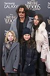 Chris Cornell and family attends the 'Into The Woods' World Premiere at Ziegfeld Theater on December 8, 2014 in New York City.