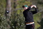 15 April 2016: Miami's Dewi Weber. The First Round of the Atlantic Coast Conference's Womens Golf Tournament was held at Sedgefield Country Club in Greensboro, North Carolina.