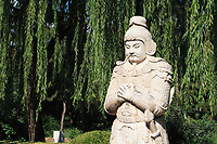 Beijing ,China- 2007 File Photo -<br /> <br /> Outdoor statue<br /> <br /> <br /> <br /> photo : James Wong-  Images Distribution