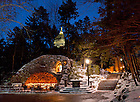 Grotto in winter