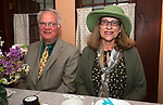 WOODBURY CT-050717JS04- Michael Pinevich of Woodbury, and his wife Deborah Goz, at the Flanders Nature Center's 1920's themed Farm Tea held at the Flanders Nature Center in Woodbury. <br /> Jim Shannon Republican-American
