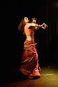 "Edinburgh, UK. 02.08.2016. Alba Flamenca presents ""India Flamenco"", as part of the Edinburgh Festival Fringe.  Picture shows: Iraya Noble. Photograph © Jane Hobson."