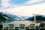Leaving College Fjord, Alaska ,Just Relaxing As We Sail Away.