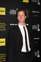 LOS ANGELES - JUN 23:  Jonathan Mangum arrives at the 2012 Daytime Emmy Awards at Beverly Hilton Hotel on June 23, 2012 in Beverly Hills, CA