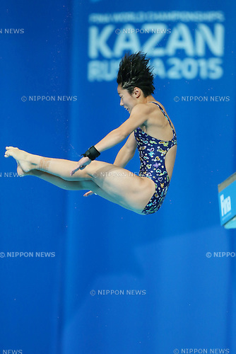 Minami Itahashi (JPN), JULY 29, 2015 - Diving : 16th FINA World Championships Kazan 2015 Women's 10m Platform Preliminary at Aquatics Palace in Kazan, Russia. (Photo by Yohei Osada/AFLO SPORT)