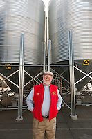 Bob Moore of Bob's Red Mill at  Bob's Red Mill  in Milwaukee Oregon