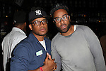Omar and Rugz D Bewler At BET Music Matters at Santos Party House, NY  3/13/13