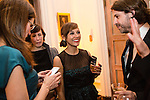 Actress Rashida Jones, center, attends the Bloomberg Vanity Fair White House Correspondents' Association dinner afterparty at the residence of the French Ambassador on Saturday, April 28, 2012 in Washington, DC. Brendan Hoffman for the New York Times