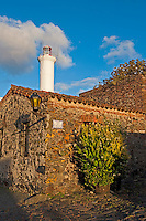Uruguay, Colonia de Sacramento, Stone buildings and Colonia lighthouse