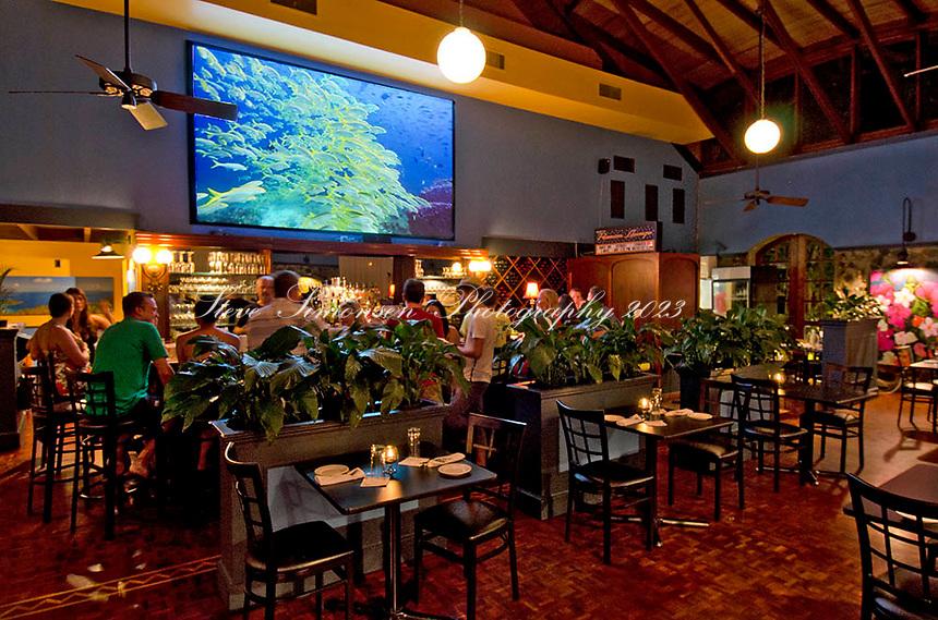 La Plancha del Mar Restaurant<br /> Mongoose Junction, St. John<br /> U.S. Virgin Islands