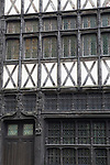 Traditional Facade of Old Building in Rouen in Normandy, France