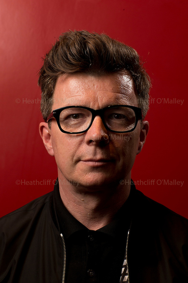May0072218 . Daily Telegraph<br /> <br /> Arts<br /> <br /> Singer Rick Astley photographed at the Soho Hotel<br /> <br /> London 31 August 2016