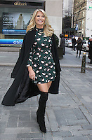 NEW YORK, NY - FEBRUARY 16: Christie Brinkley seen after co-hosting NBC's Today Show in New York City on  February 16, 2017. Credit: RW/MediaPunch