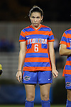 22 November 2013: Florida's Lauren Smith. The University of Florida Gators played the Duke University Blue Devils at Koskinen Stadium in Durham, NC in a 2013 NCAA Division I Women's Soccer Tournament Second Round match. Duke won the game 1-0.