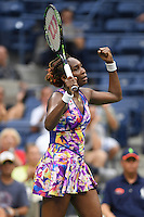 FLUSHING NY- AUGUST 30: Venus Williams Vs Kateryna Kozlova on Arthur Ashe Stadium at the USTA Billie Jean King National Tennis Center on August 30, 2016 in Flushing, Queens. Credit: mpi04/MediaPunch