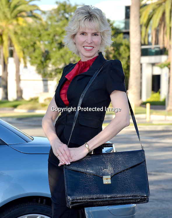 Mature Business Woman at Office Bullding