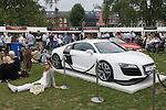 Mint Polo in the Park. Hurlingham Park Fulham London Uk June 6th 2010.