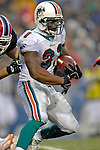 17 December 2006: Miami Dolphins running back Sammy Morris (31) in action against the Buffalo Bills at Ralph Wilson Stadium in Orchard Park, New York. The Bills defeated the Dolphins 21-0.. .Mandatory Photo Credit: Ed Wolfstein Photo<br />