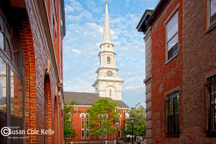 North Church in Market Square, Portsmouth, NH, USA