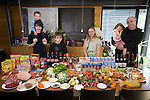 The Engel family at home in Luxembourg with one week's food. Nico is an architect. He designed their home. Model Released. Architect Nico Engel, 42, and his wife Loba Anikina, 35 of Esch-sur-Alzette, southwestern Luxembourg, and their four children: Maxim, 15; Lou, 12; Mila, 4; and Jora, 2.