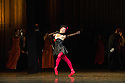 Edinburgh, UK. 29.08.2012. Mariinsky Ballet presents CINDERELLA as part of the Edinburgh International Festival. Picture shows: Tatiana Bazhitova (Kubishka -stepsister). Photo credit: Jane Hobson.