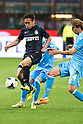 "Yuto Nagatomo (Inter), Henrique (Napoli), APRIL 26, 2014 - Football / Soccer : Italian ""Serie A"" match between Inter Milan 0-0 SSC Napoli at Stadio Giuseppe Meazza in Milan, Italy. (Photo by Enrico Calderoni/AFLO SPORT)"