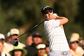 Apr. 1, 2006; Rancho Mirage, CA, USA; Karrie Webb tees off on the 16th hole at the Kraft Nabisco Championship at Mission Hills Country Club. ..Mandatory Photo Credit: Darrell Miho.Copyright © 2006 Darrell Miho .