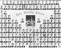 1959 Yale Divinity School Senior Portrait Class Group Photograph