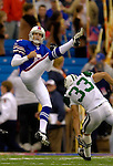 24 September 2006: Buffalo Bills punter Brian Moorman in action against the New York Jets at Ralph Wilson Stadium in Orchard Park, NY. The Jets defeated the Bills 28-20. Mandatory Photo Credit: Ed Wolfstein Photo
