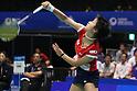 Nozomi Okuhara (JPN), September 21, 2011 - Badminton : YONEX Open Japan 2011, Women's Singles at Tokyo Metropolitan Gymnasium, Tokyo, Japan. (Photo by Daiju Kitamura/AFLO SPORT) [1045]