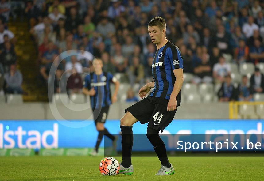 Club Brugge - KV Kortrijk : Brandon Mechele <br /> Foto VDB / Bart Vandenbroucke