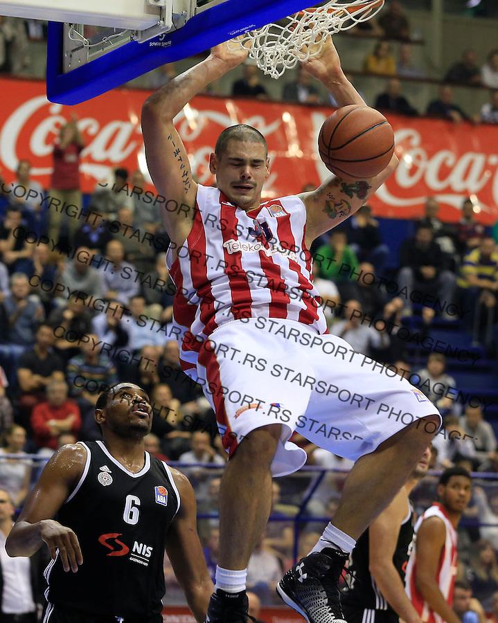 Kosarka ABA League season 2015-2016<br /> Crvena Zvezda v Partizan<br /> Maik Zirbes<br /> Beograd, 03.11.2015.<br /> foto: Srdjan Stevanovic/Starsportphoto&copy;