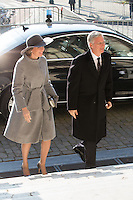 King Philippe & Queen Mathilde of Belgium attend the annual celebration of the Eucharist