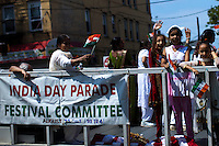 People take part in the annual Indian independence day parade in New Jersey,  August 11, 2013. Photo by Eduardo Munoz Alvarez / VIEWpress.