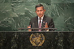 Singapore<br /> H.E. Ms. Vivian Balakrishnan<br /> Minister for Foreign Affairs<br /> <br /> <br /> <br /> General Assembly Seventy First Session: 23rd plenary meeting